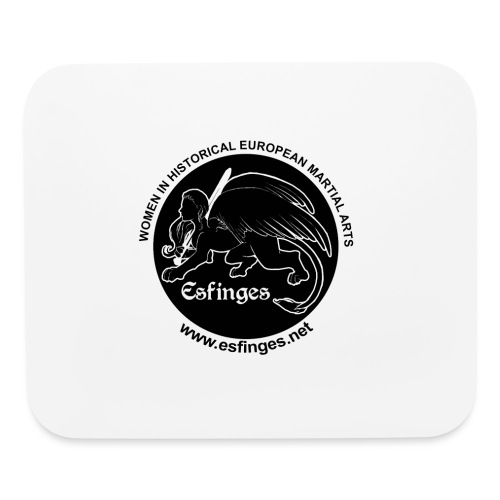 Esfinges Logo Black - Mouse pad Horizontal