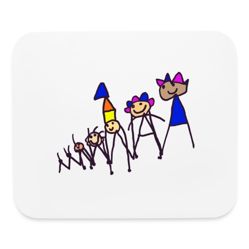 The king family - Mouse pad Horizontal