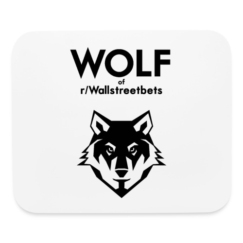 Wolf of Wallstreetbets - Mouse pad Horizontal