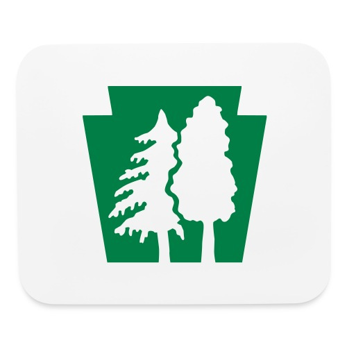 PA Keystone w/trees - Mouse pad Horizontal
