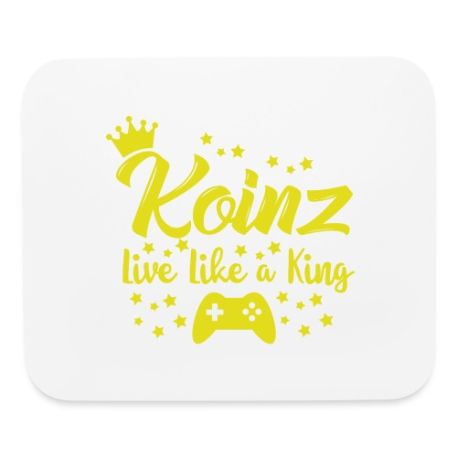 Live Like A King - Mouse pad Horizontal