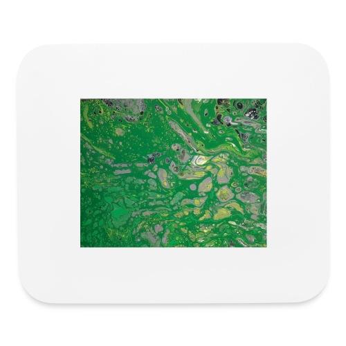 Green bubbles - Mouse pad Horizontal