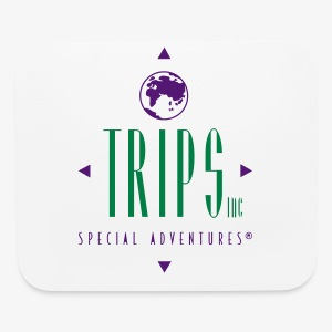 Trips Inc.™ Original Logo - Mouse pad Horizontal