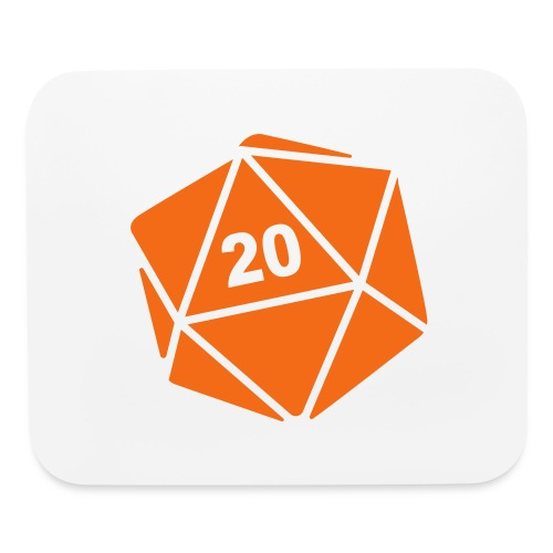 D20 Winter Toque - Mouse pad Horizontal