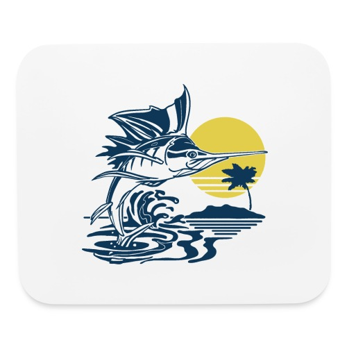 Sailfish - Mouse pad Horizontal