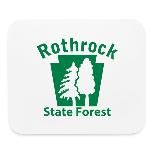 Rothrock State Forest Keystone (w/trees) - Mouse pad Horizontal