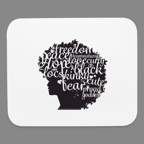 Afro Text II - Mouse pad Horizontal