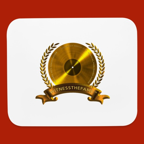 WITNESSTHEFAME GOLD ARTS SEAL - Mouse pad Horizontal