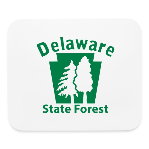Delaware State Forest Keystone (w/trees) - Mouse pad Horizontal
