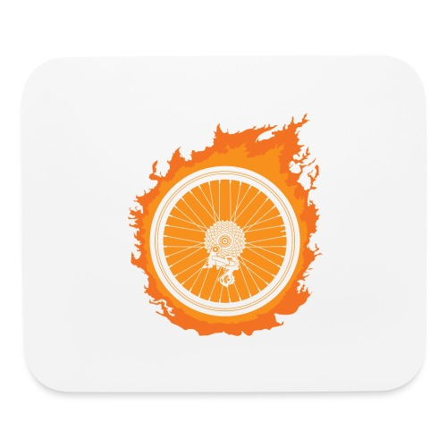 Bike Fire - Mouse pad Horizontal