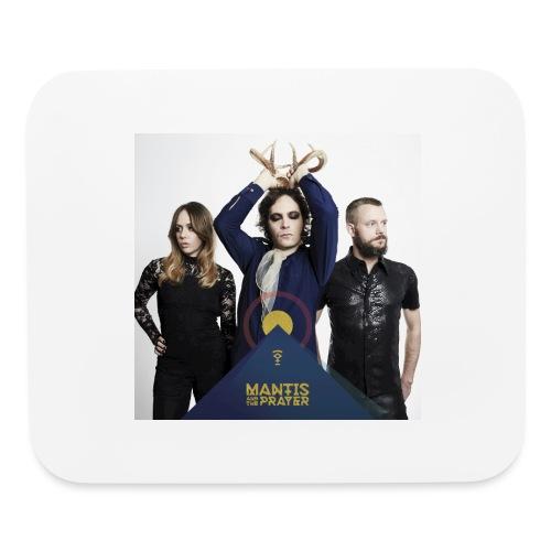 Mantis and the Prayer - Pyramid Design - Mouse pad Horizontal