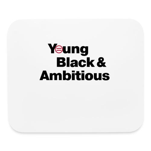 YBA white and gray shirt - Mouse pad Horizontal