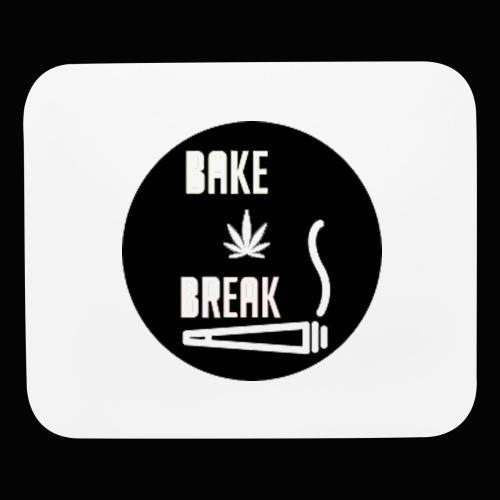 Bake Break Logo Cutout - Mouse pad Horizontal