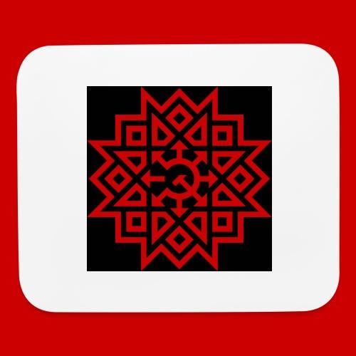 Chaos Communism Button - Mouse pad Horizontal