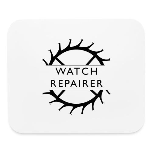 Watch Repairer Emblem - Mouse pad Horizontal