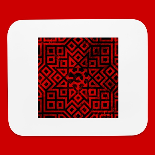 Detailed Chaos Communism Button - Mouse pad Horizontal