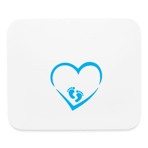 Baby coming soon - Mouse pad Horizontal