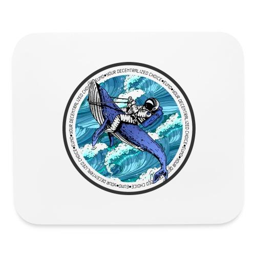 Astronaut Whale - Mouse pad Horizontal