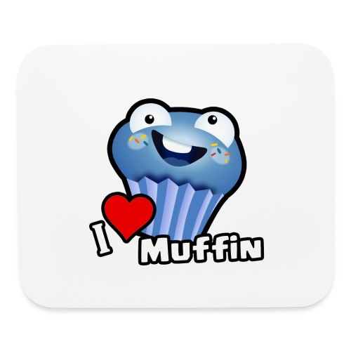 I Love Muffin - Mouse pad Horizontal