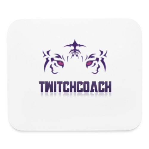 TwitchCoach Merch - Mouse pad Horizontal