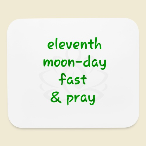 108-lSa Inspi-Shirt-98 eleventh moon day - Mouse pad Horizontal