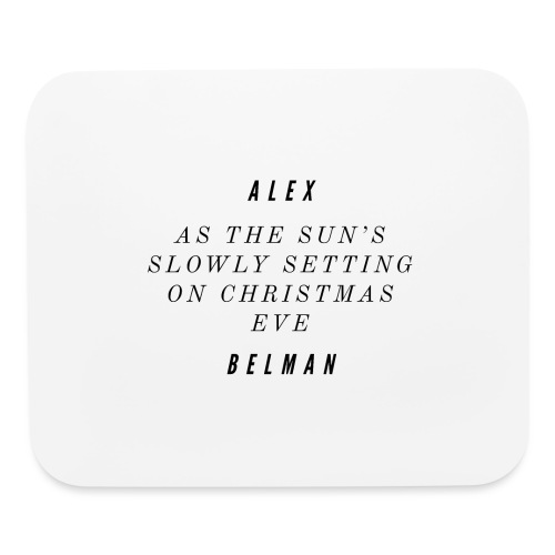 On Christmas Eve Lyrics - Mouse pad Horizontal