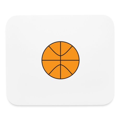 Plain basketball - Mouse pad Horizontal