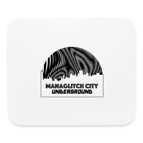 Managlitch Moire - Mouse pad Horizontal