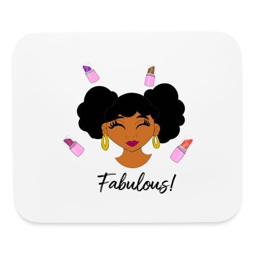 fabulous lipstick - Mouse pad Horizontal