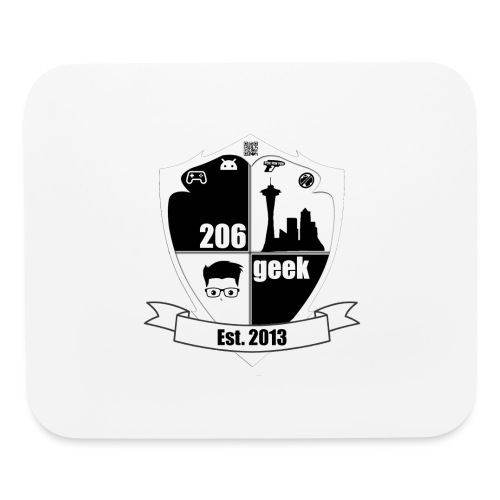 206geek podcast - Mouse pad Horizontal