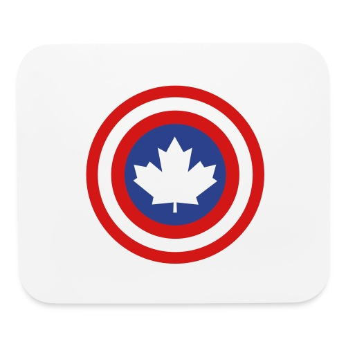 Captain Canada Shield 2 Colour - Mouse pad Horizontal