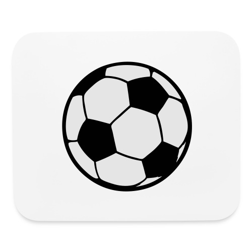 Custom soccerball 2 color - Mouse pad Horizontal