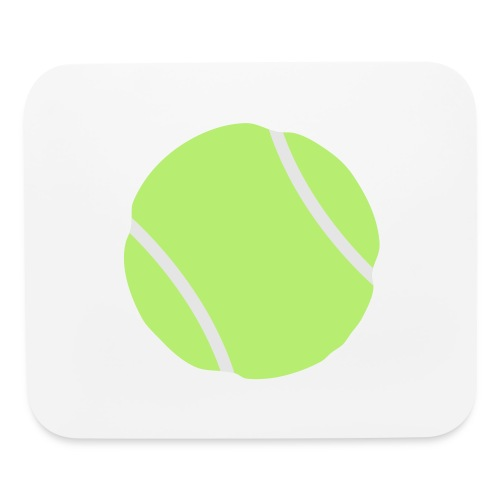 tennis ball - Mouse pad Horizontal