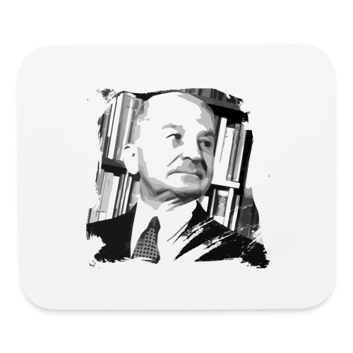 Ludwig von Mises Libertarian - Mouse pad Horizontal