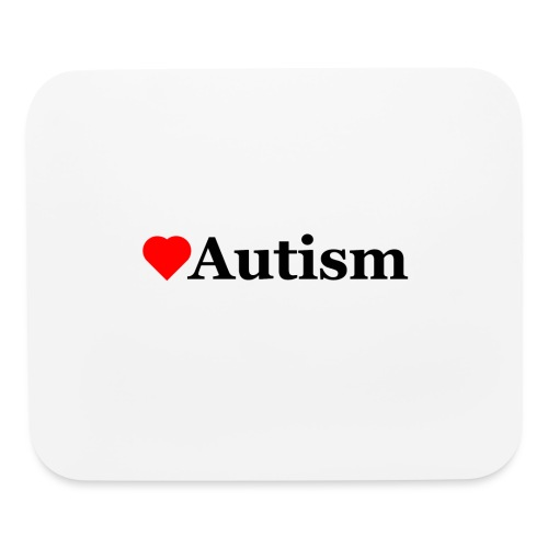 Heart Autism b - Mouse pad Horizontal