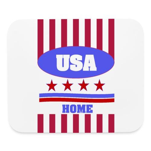 US Flag case - Mouse pad Horizontal