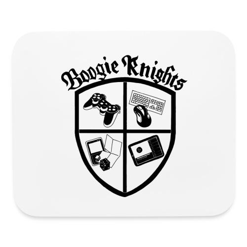 boogieknightswhite600 - Mouse pad Horizontal