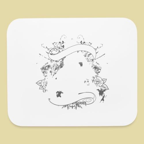 hoh_tshirt_skullhouse - Mouse pad Horizontal