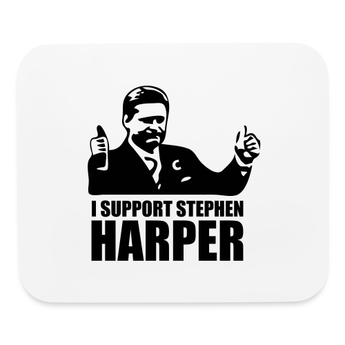 I Support Stephen Harper - Mouse pad Horizontal