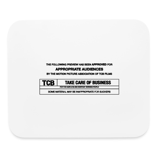 TCB Films Disclamer - Mouse pad Horizontal