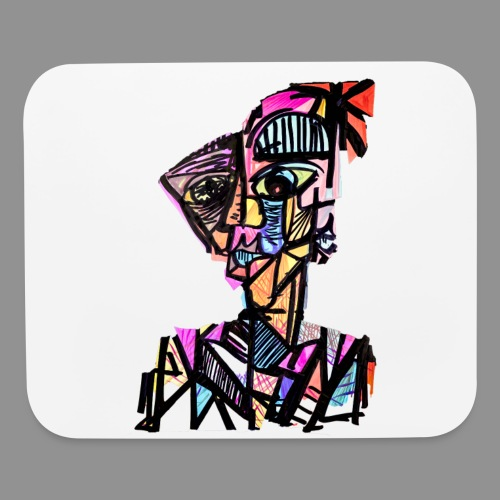 The Patchwork Man - Mouse pad Horizontal