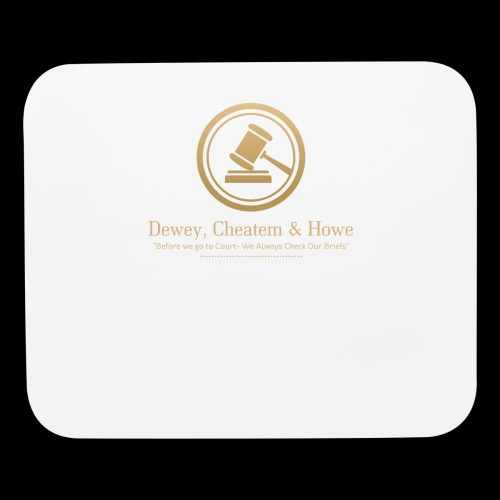 DEWEY, CHEATEM & HOWE: Attorneys at LAW - Mouse pad Horizontal