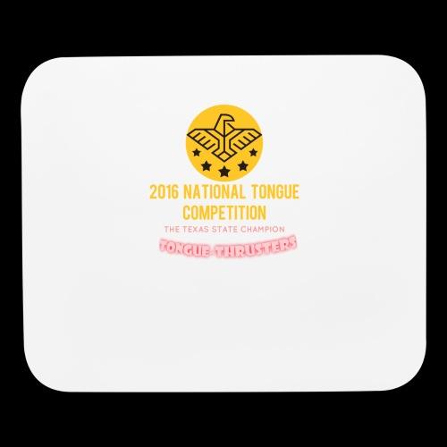 OFFICIAL 2016 TONGUE CHAMPIONSHIPS! - Mouse pad Horizontal