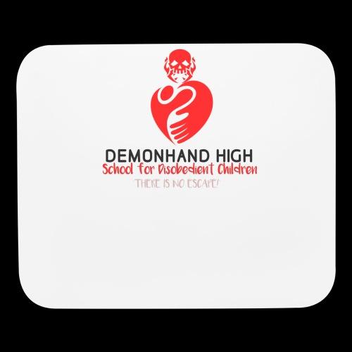 DEMONHAND HIGH SCHOOL OFFICIAL GEAR! - Mouse pad Horizontal