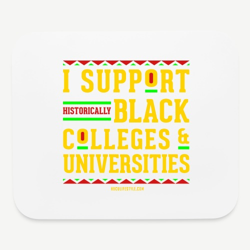 I Support HBCUs - Mouse pad Horizontal