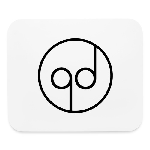 Black Icon - Mouse pad Horizontal