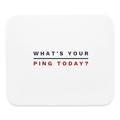 Whatsyourping br - Mouse pad Horizontal
