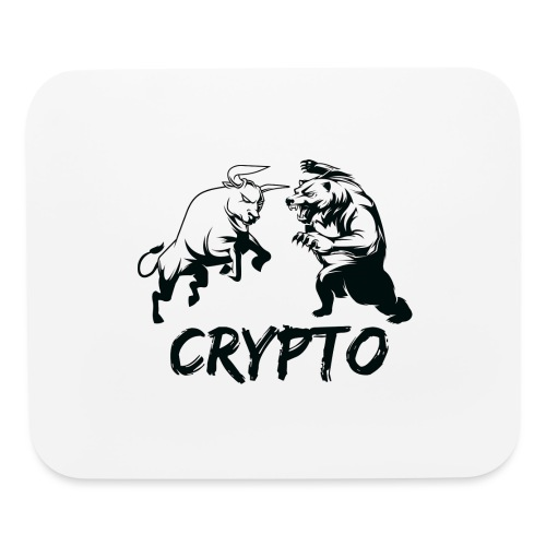 CryptoBattle Black - Mouse pad Horizontal