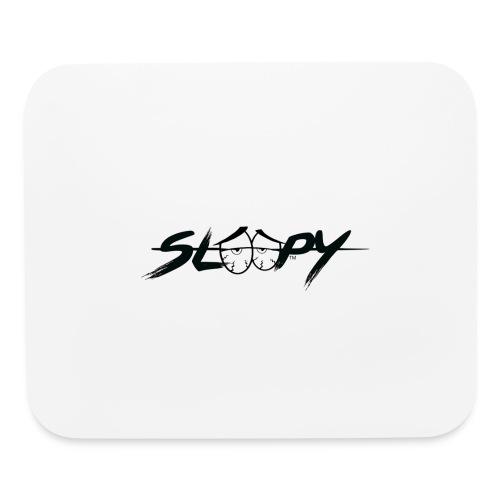 Sleepy Logo Black - Mouse pad Horizontal