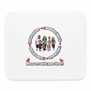 Measure with your Heart! - Mouse pad Horizontal